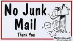 No Junk Mail copy